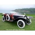 1914 Rolls-Royce Silver Ghost Labourdette Skiff oil painting