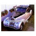 1934 Bugatti Ventous 4 Passenger Coupe oil painting