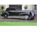1936 Mercedes 540K Cabriolet oil painting
