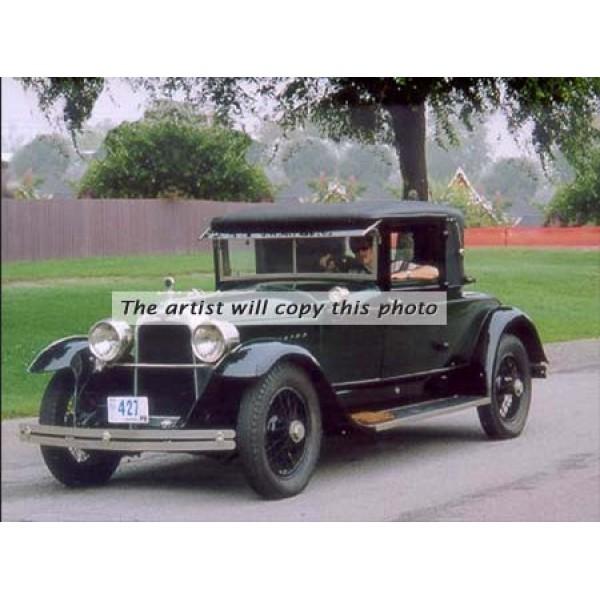 1922 Duesenberg Model A 2-4 Coupe Fleetwood oil painting