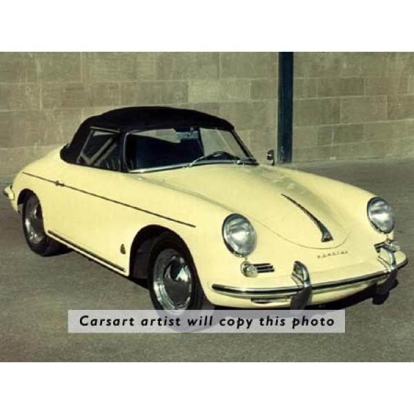 1959 Porsche 356 oil painting