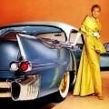 1956 Cadillac Eldorado Seville oil painting
