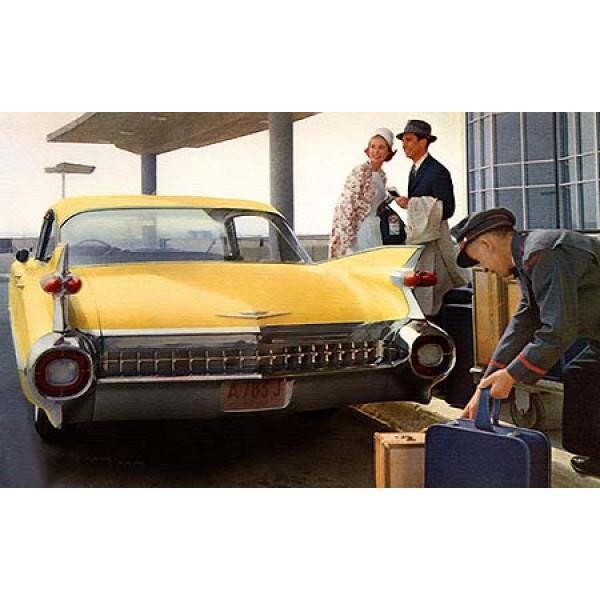 1959 Cadillac Series 62 Sedan oil painting
