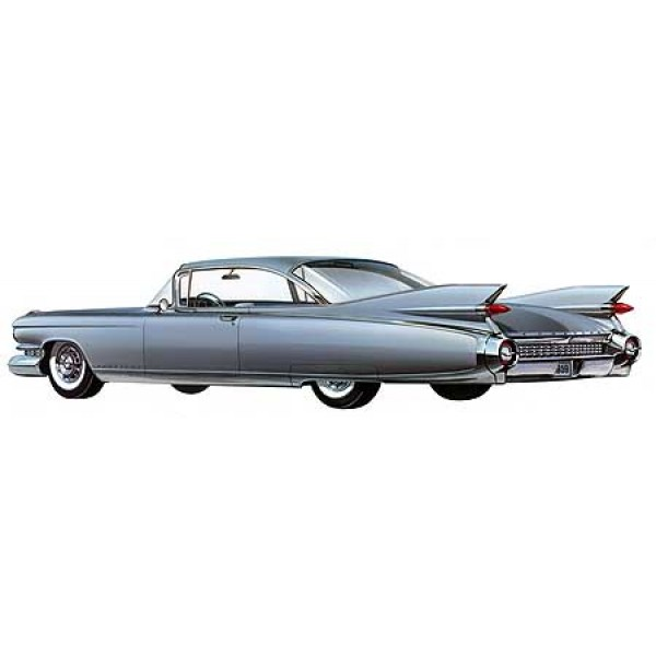 1959 Cadillac Eldorado Seville oil painting