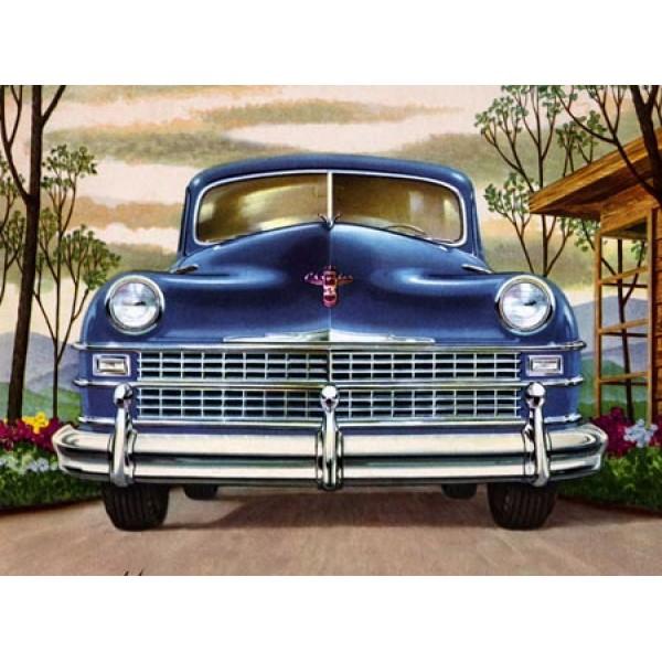 1947 Chrysler oil painting