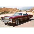 1976 Cadillac Eldorado oil painting
