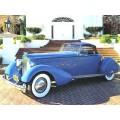 1934 Packard V12 Speedster oil painting