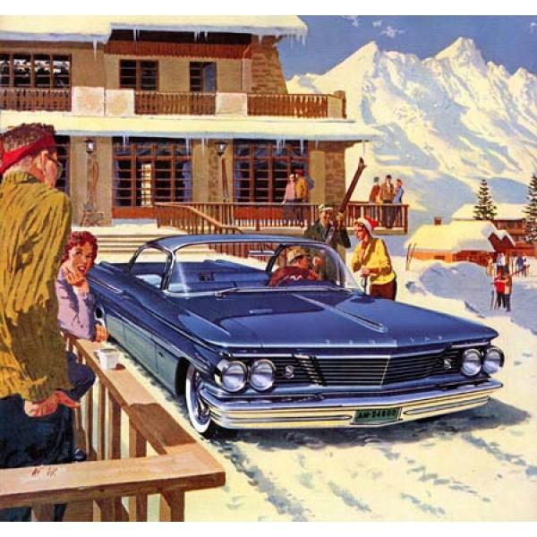 1960 Bonneville Sports Coupe