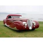 1938 Delahaye 165 Figoni ET Falaschi Cabriolet R3
