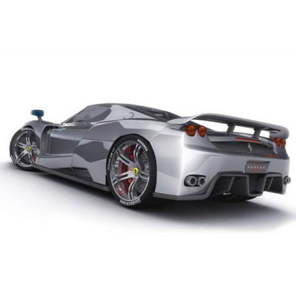 2006 Ferrari Enzo Rear Oil Painting