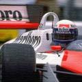 Alain Prost McLaren Honda oil painting