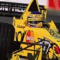 Jarno Trulli B&H Jordan Honda oil painting