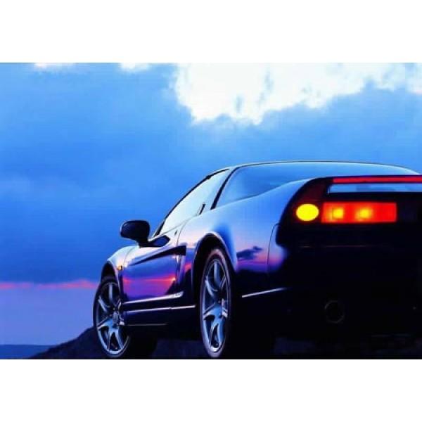 Acura NSX Black Sunset