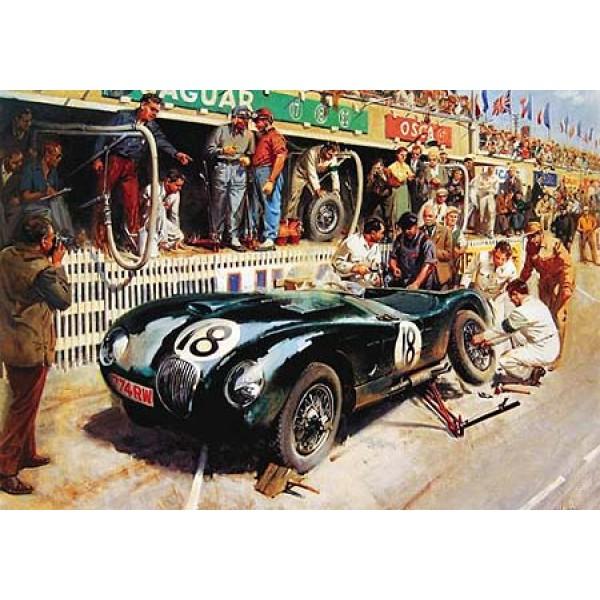 Pit-stop at Le Mans