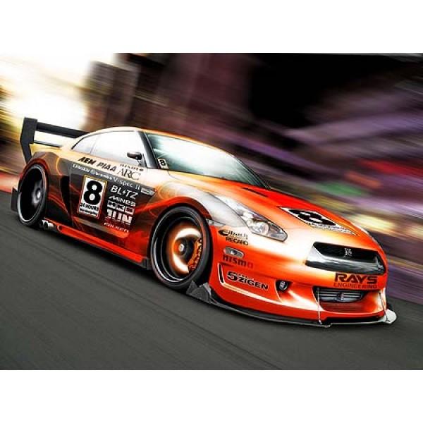 2011 Nissan GTR 8