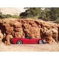 2004 Red Corvette