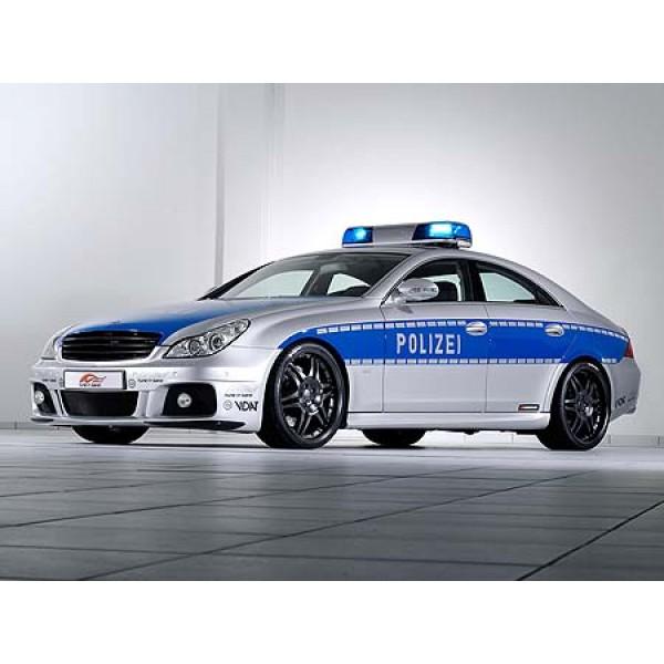 Mercedes Benz CLS Brabus Rocket Police Car
